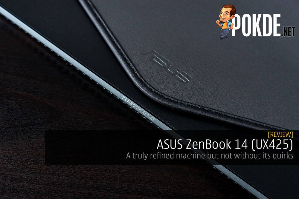 ASUS ZenBook 14 UX425 review refined machine cover