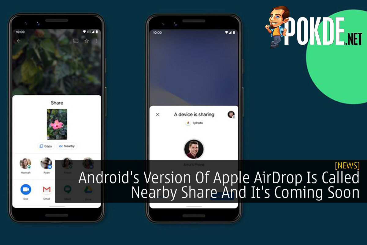Android's Version Of Apple AirDrop Is Called Nearby Share And It's Coming Soon 8