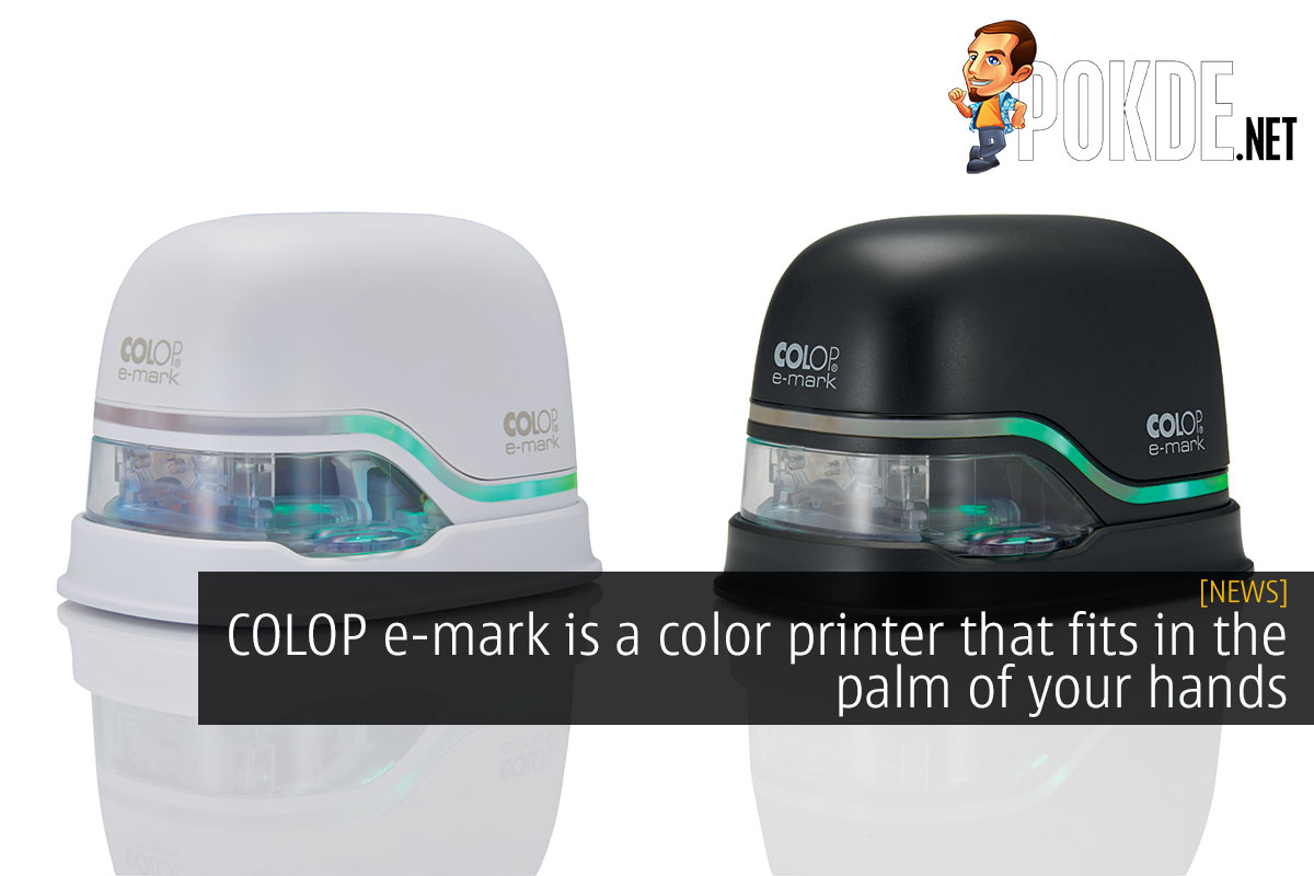 COLOP e-mark color printers cover