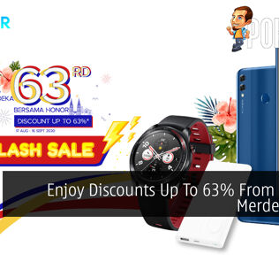 Enjoy Discounts Up To 63% From HONOR  Merdeka Sale 26