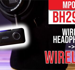 MPOW BH298A Bluetooth Receiver- Easiest way to convert wired headphone to wireless! 40