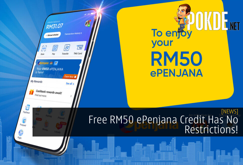 Free RM50 ePenjana Credit Has No Restrictions! Can Be Used For E-Hailing Services and Online Purchases 10