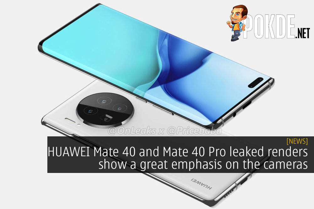 HUAWEI Mate 40 and Mate 40 Pro leaked renders show a great emphasis on the cameras 19