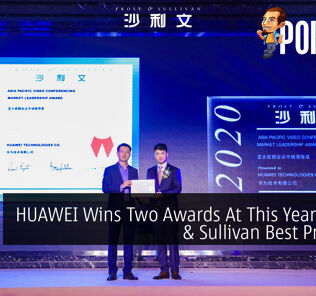 HUAWEI Wins Two Awards At This Year's Frost & Sullivan Best Practices 28