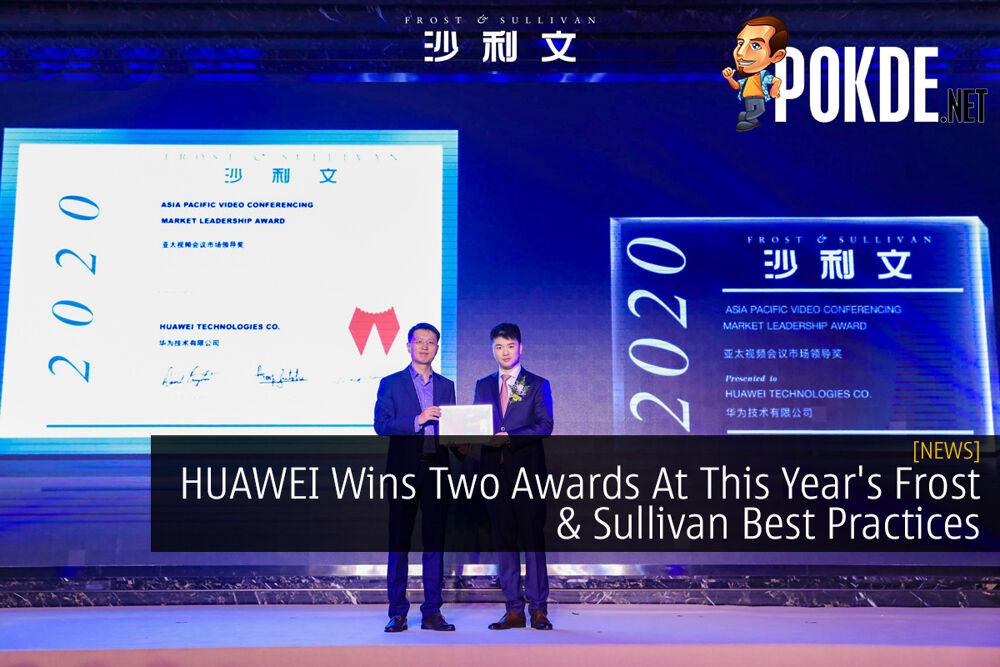 HUAWEI Wins Two Awards At This Year's Frost & Sullivan Best Practices 18