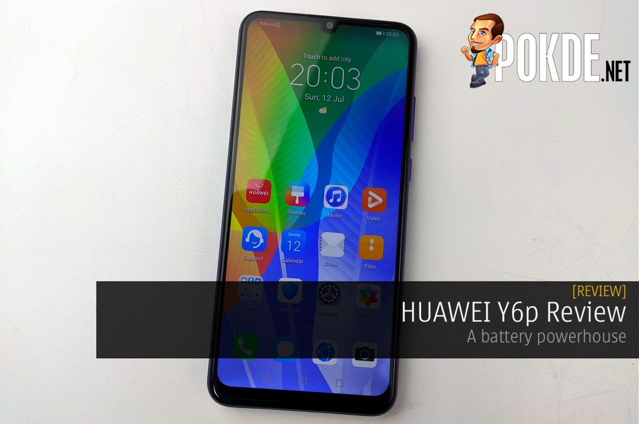 HUAWEI Y6p Review - A battery powerhouse 10