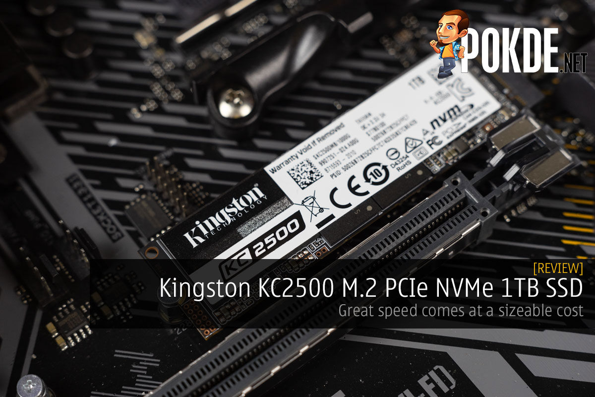 Kingston KC2500 PCIe NVMe Review cover