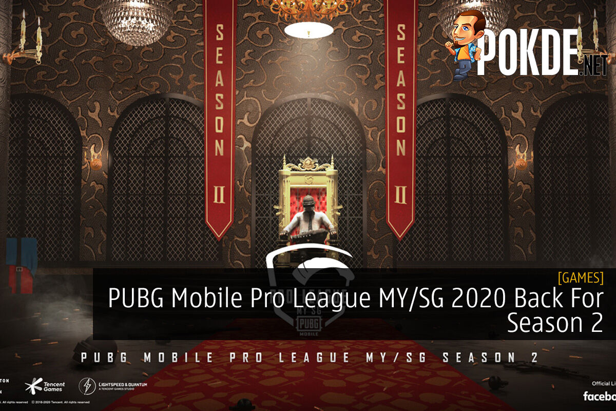 PUBG Mobile Pro League MY/SG 2020 Back For Season 2 9