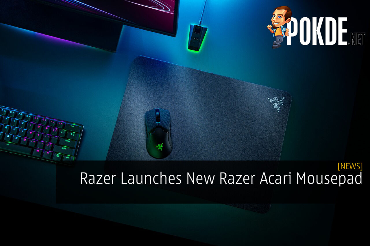 Razer Launches New Razer Acari Mousepad 9