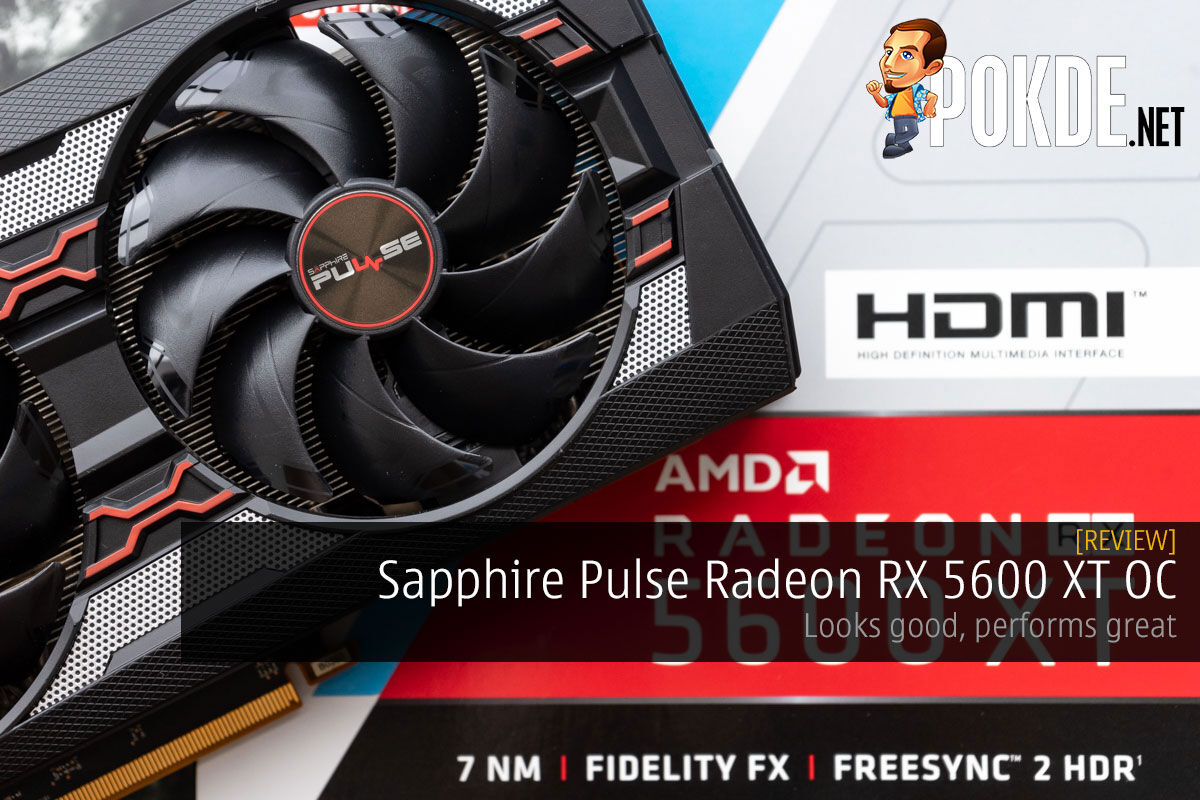 Sapphire Pulse Radeon RX 5600 XT OC Review — looks good, performs great 14