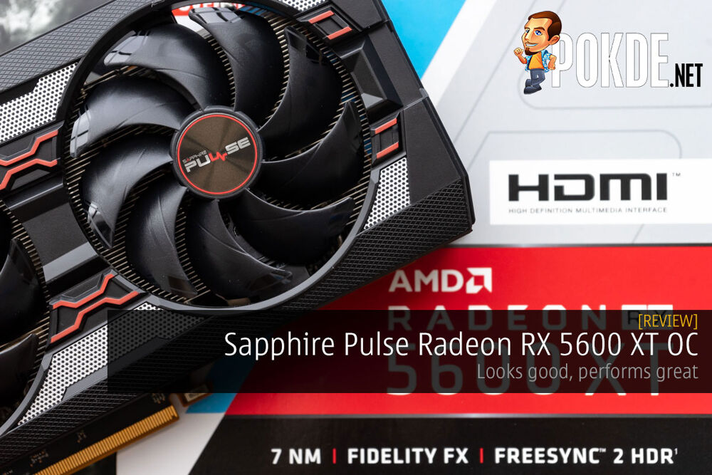 Sapphire Pulse Radeon RX 5600 XT OC Review — looks good, performs great 17
