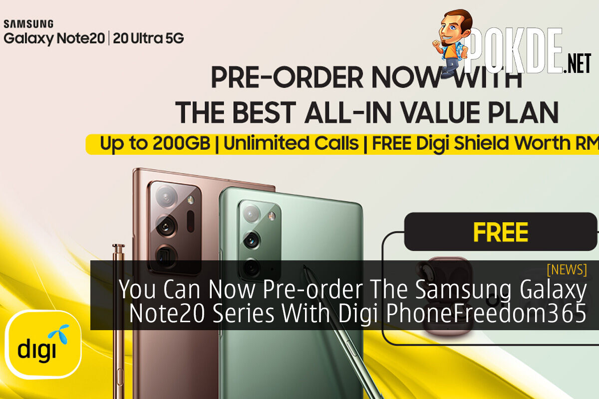 You Can Now Pre-order The Samsung Galaxy Note20 Series With Digi PhoneFreedom365 8