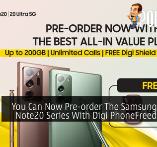 You Can Now Pre-order The Samsung Galaxy Note20 Series With Digi PhoneFreedom365 22