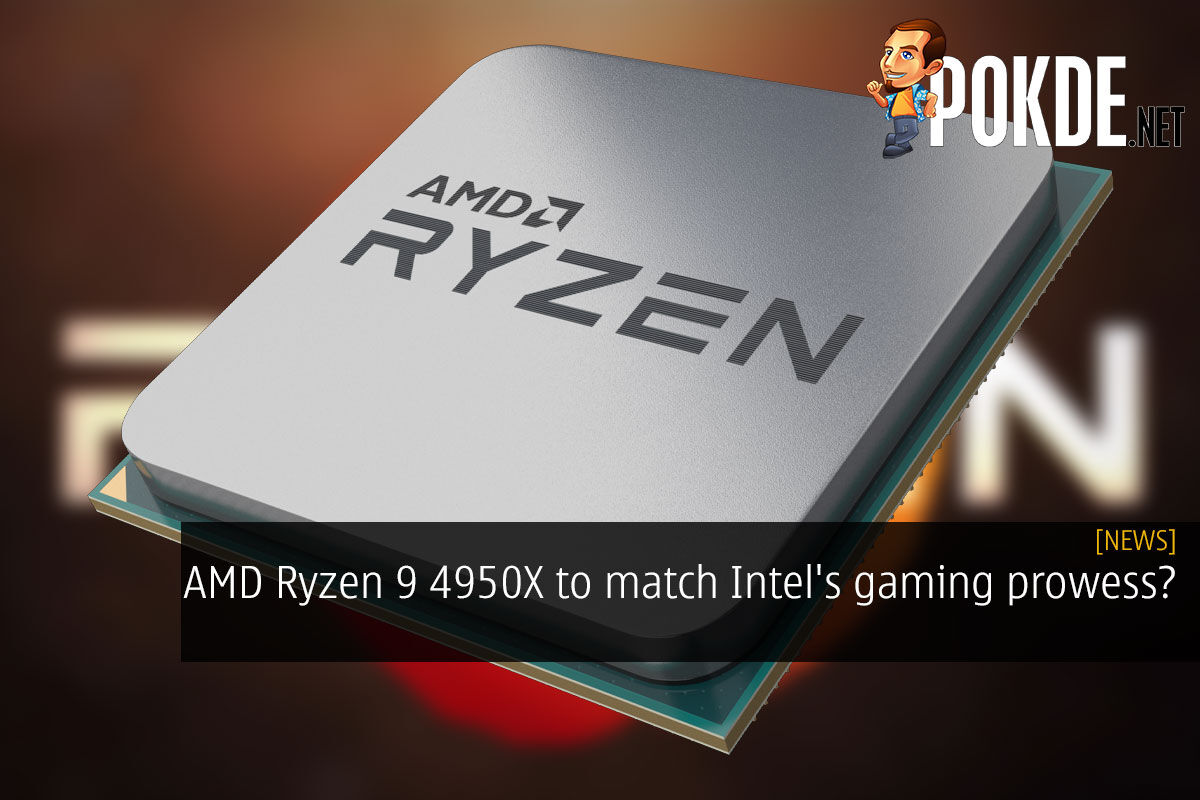 AMD Ryzen 9 4950X to match Intel's gaming prowess? 3