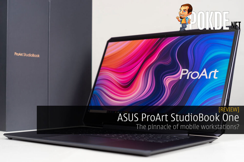 ASUS ProArt StudioBook One Review — the pinnacle of mobile workstations? 25