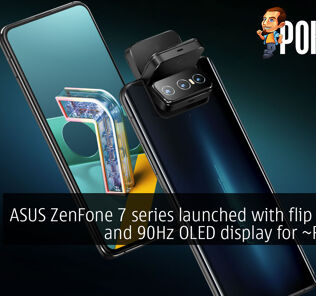 asus zenfone 7 flip camera 90hz oled rm3122 cover