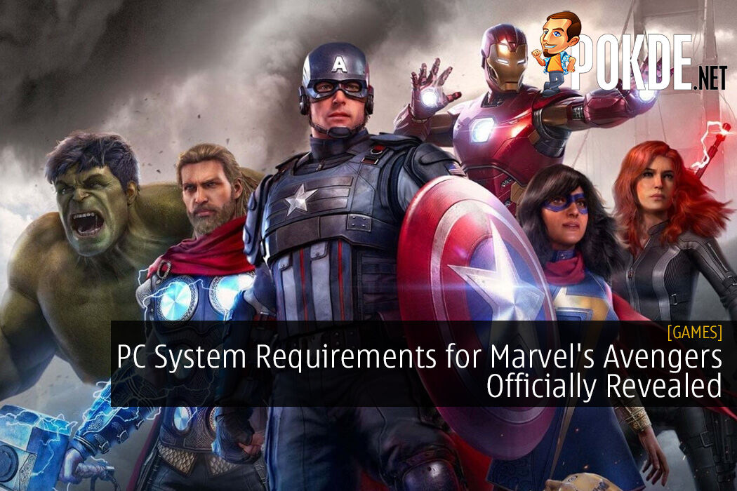 PC System Requirements for Marvel's Avengers Officially Revealed