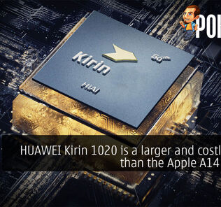 huawei kirin 1020 larger and costlier apple a14 cover
