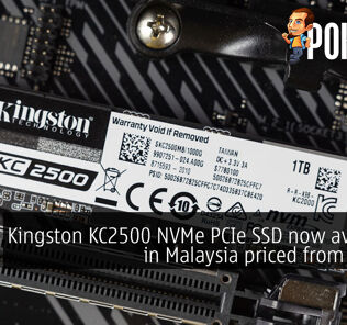 Kingston KC2500 NVMe PCIe SSD now available in Malaysia priced from RM285 24