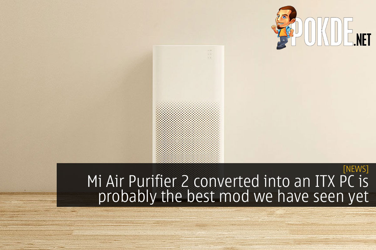 mi air purifier 2 itx pc mod cover