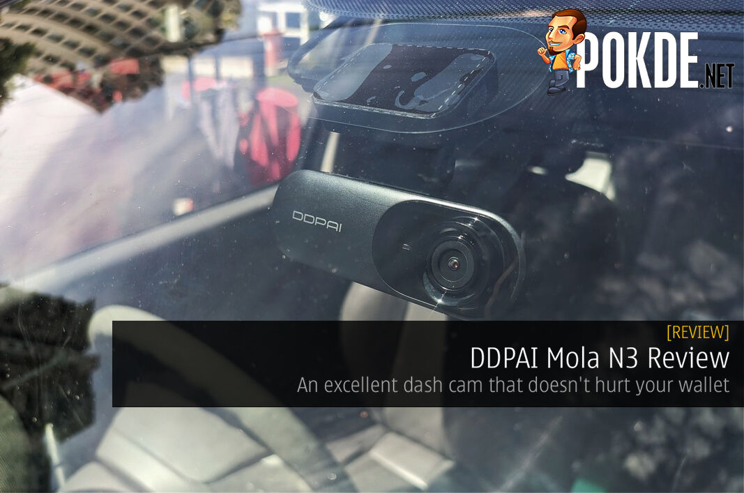 DDPAI Mola N3 Review - An excellent dash cam that doesn't hurt your wallet 6