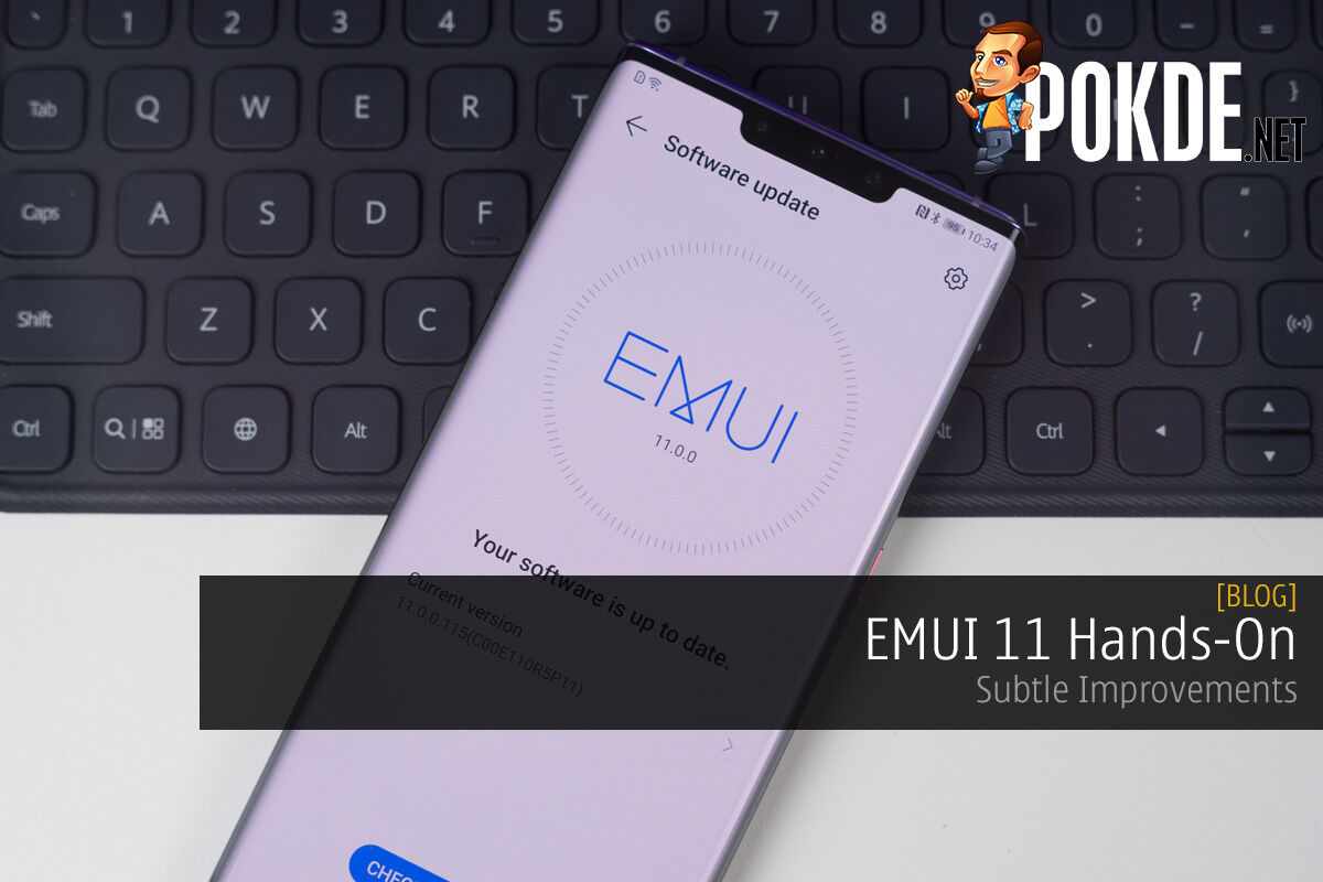 EMUI 11 Hands-On — Subtle Improvements 4