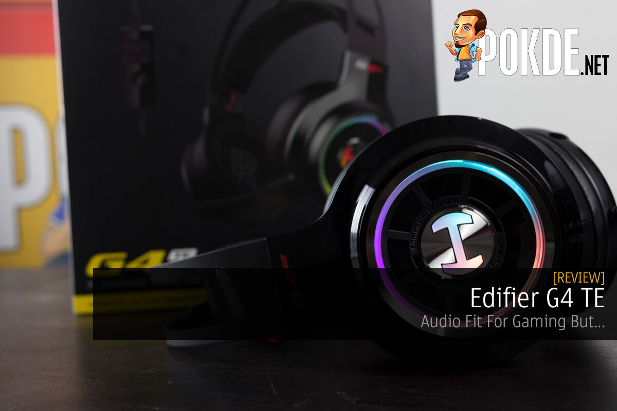 Edifier G4 TE Review — Audio Fit For Gaming 16