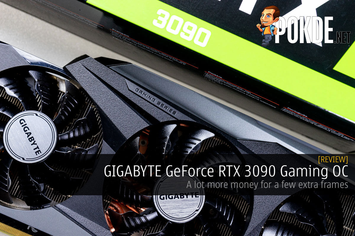 GIGABYTE GeForce RTX 3090 Gaming OC Review cover