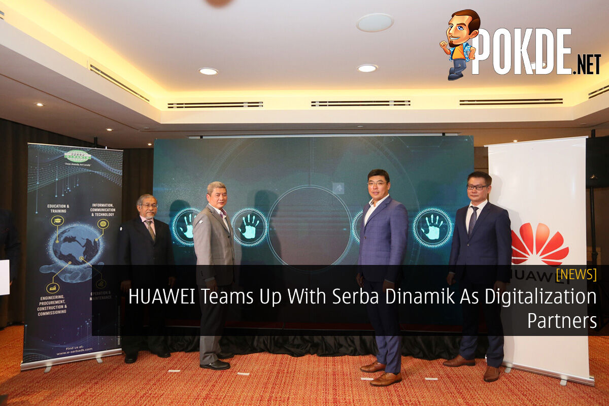 HUAWEI Teams Up With Serba Dinamik As Digitalization Partners 6