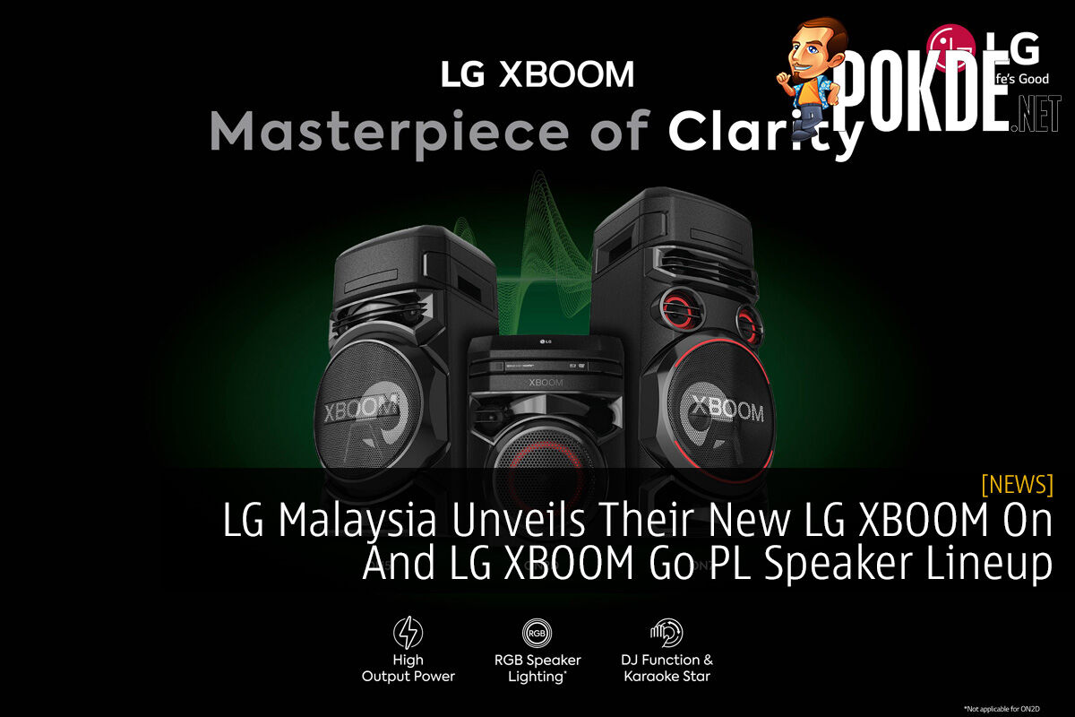 LG Malaysia Unveils Their New LG XBOOM On And LG XBOOM Go PL Speaker Lineup 12