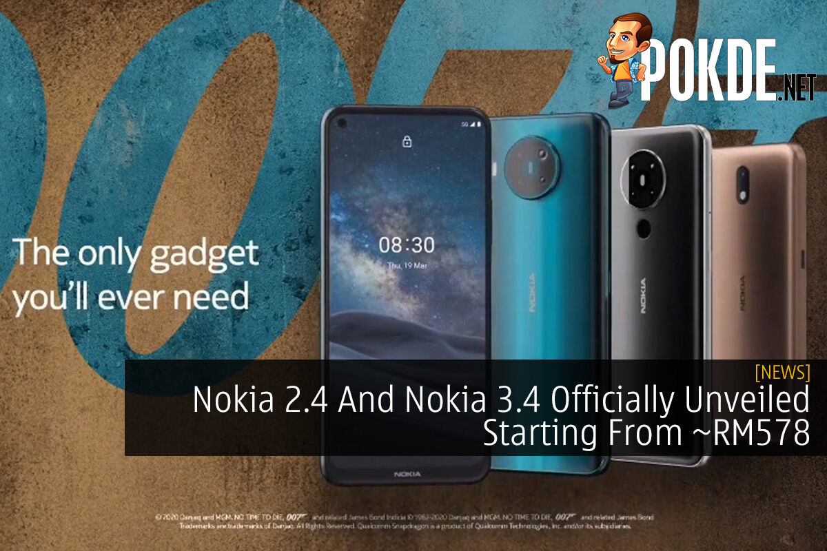 Nokia 2.4 And Nokia 3.4 Officially Unveiled Starting From ~RM578 7