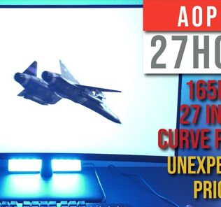 Aopen Fire Legend 27HC5R 165 Hz Gaming Monitor Review - FEATURE PACKED, UNBELIEVABLY AFFORDABLE 26