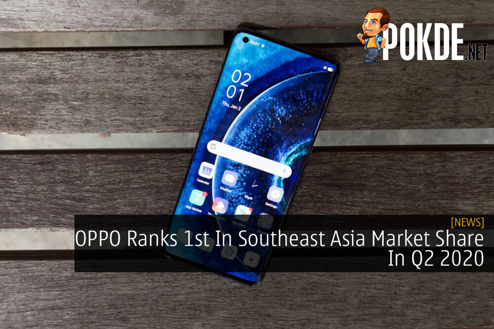OPPO Ranks 1st In Southeast Asia Market Share In Q2 2020 20