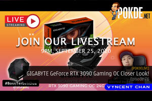 PokdeLIVE 76 — GIGABYTE GeForce RTX 3090 Gaming OC Closer Look! 56