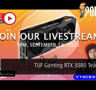PokdeLIVE 75 — TUF Gaming RTX 3080 Teardown! 25