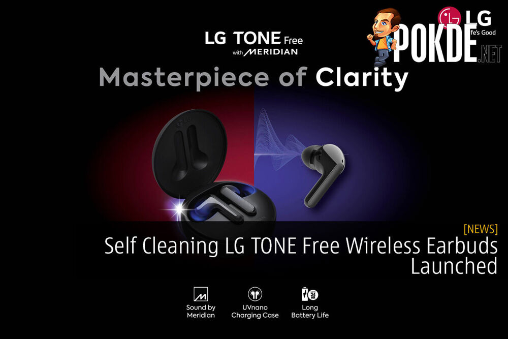 Self Cleaning LG TONE Free Wireless Earbuds Launched 27
