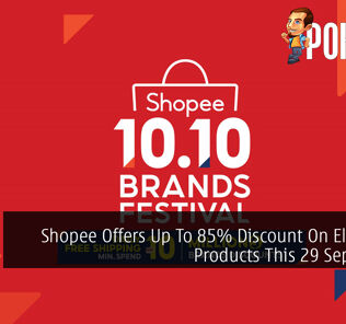 Shopee Offers Up To 85% Discount On Electronic Products This 29 September 20