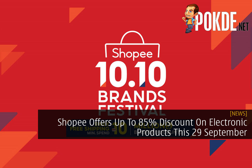 Shopee Offers Up To 85% Discount On Electronic Products This 29 September 26