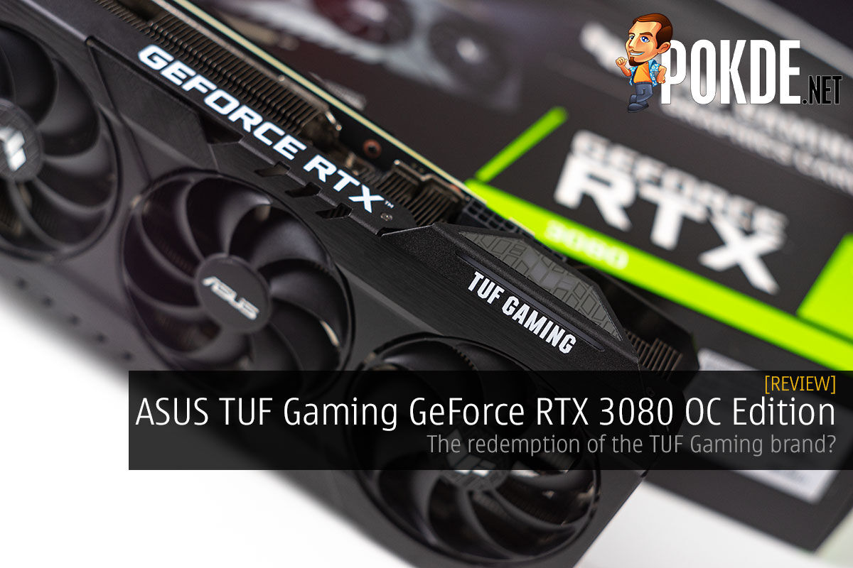 asus tuf gaming geforce rtx 3080 oc edition review cover