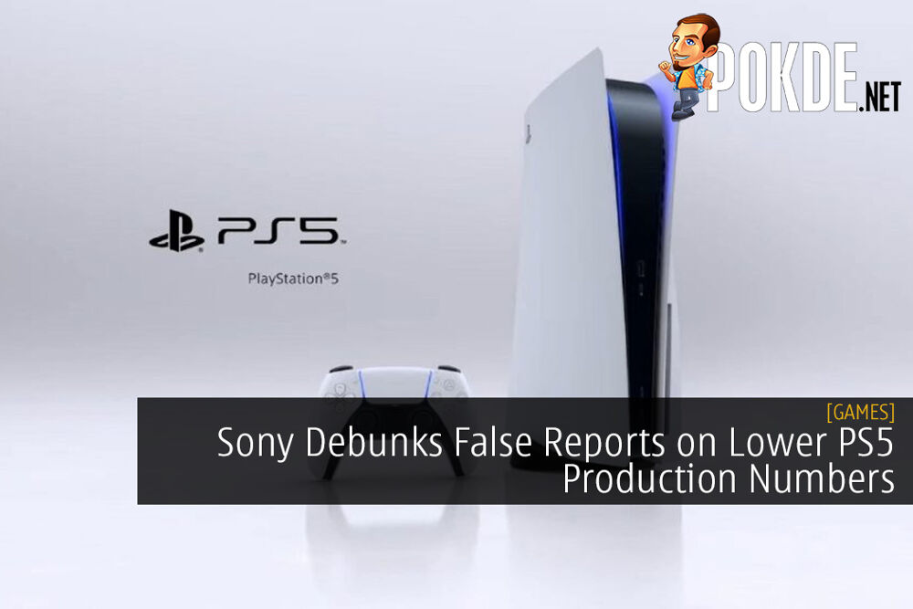 Sony Debunks False Reports on Lower PS5 Production Numbers