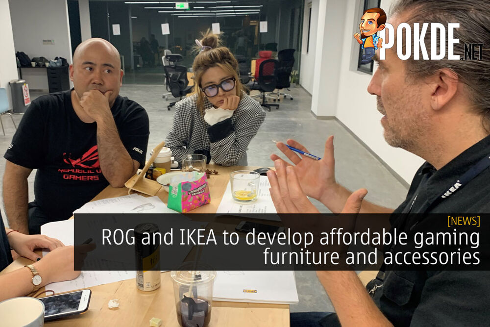 rog ikea affordable gaming furniture cover