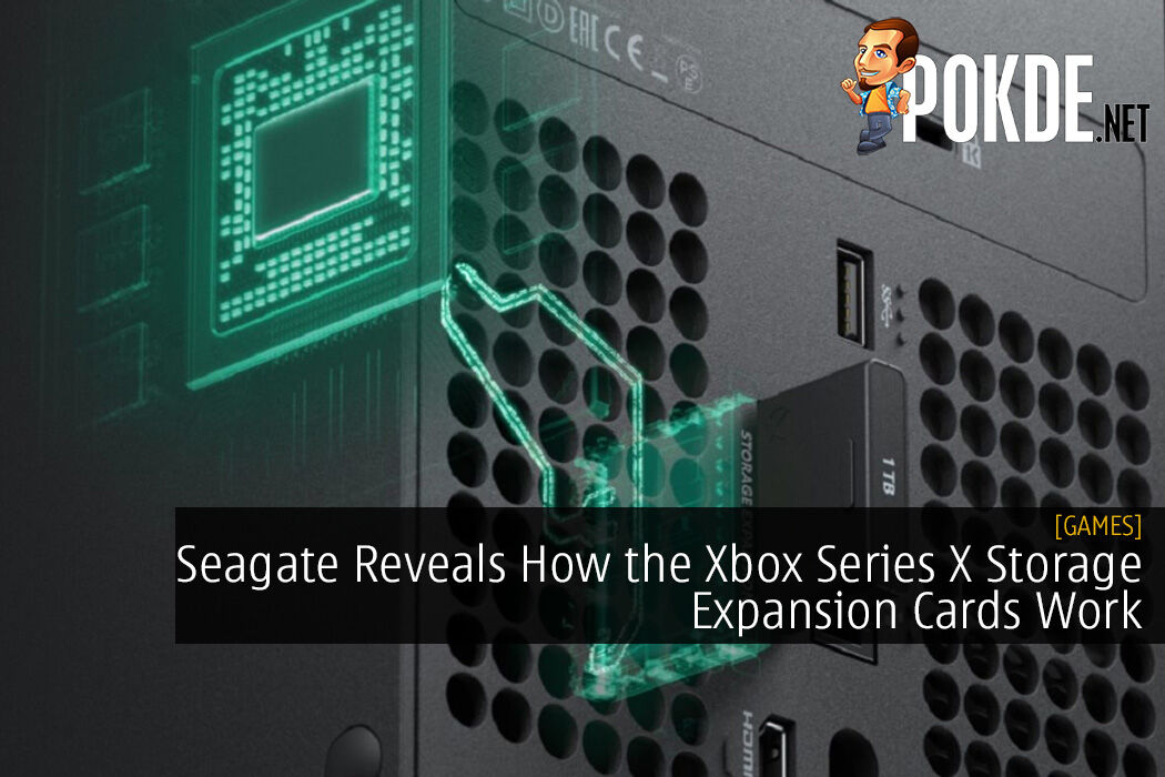 Seagate Reveals How the Xbox Series X Storage Expansion Cards Work