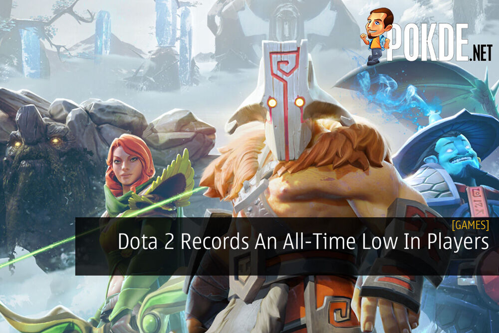 Dota 2 Records An All-Time Low In Players 27