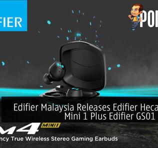 Edifier Malaysia Releases Edifier Hecate GM4 Mini 1 Plus Edifier GS01 & GS02 33