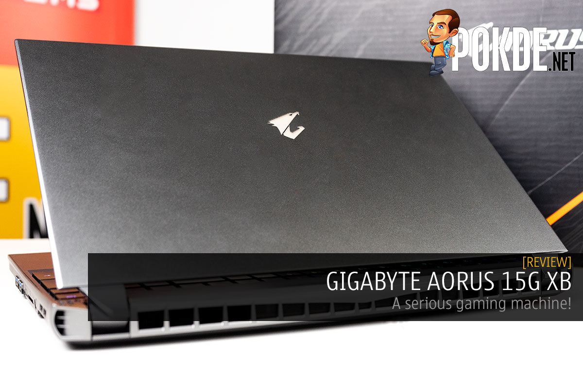 GIGABYTE AORUS 15G XB Review — a serious gaming machine! 8