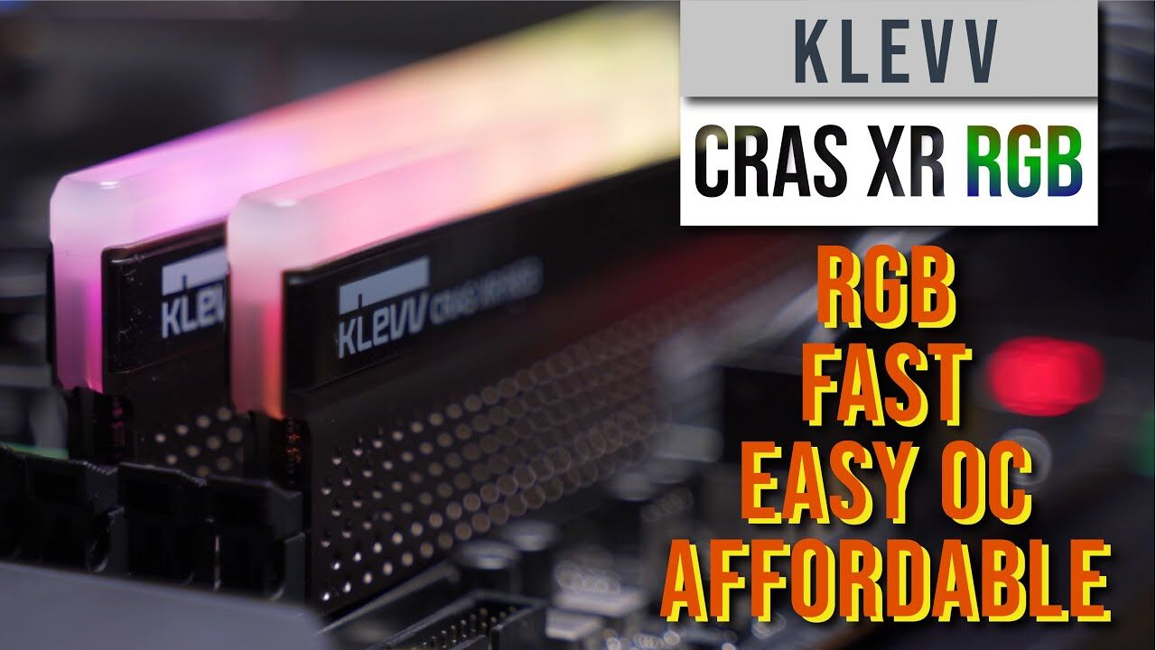 Klevv Cras XR RGB Full Review 15