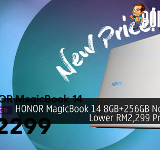 HONOR MagicBook 14 8GB+256GB Now At A Lower RM2,299 Price Tag 27