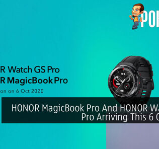 HONOR MagicBook Pro And HONOR Watch GS Pro Arriving This 6 October 22