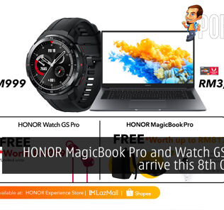 HONOR MagicBook Pro HONOR Watch GS Pro cover