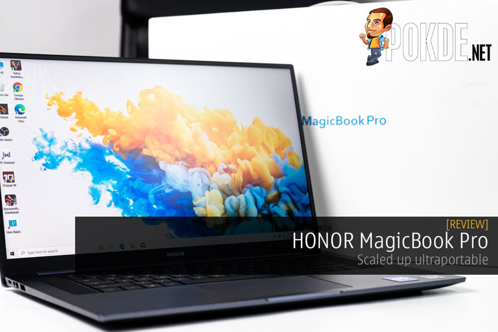 HONOR MagicBook Pro Review cover photo